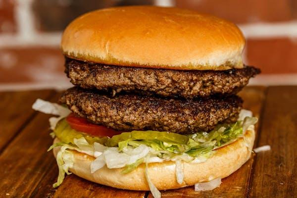 Depot Double Burger