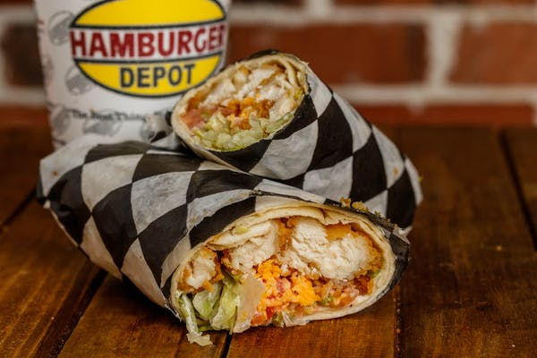 Chicken Strip Wrap