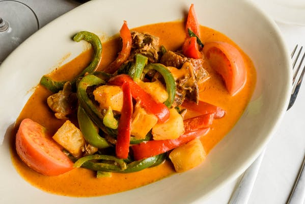 Roasted Duck with Red Curry