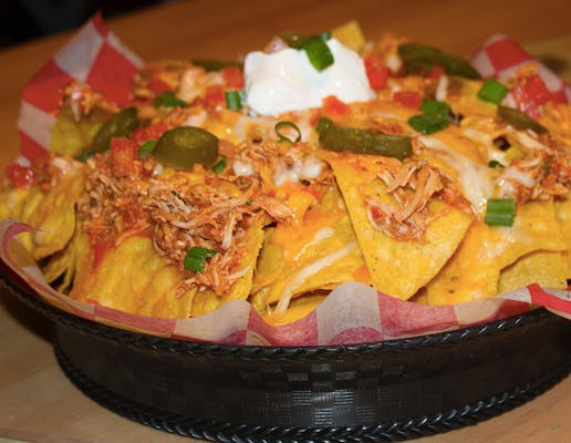 Kicked-Up Nachos
