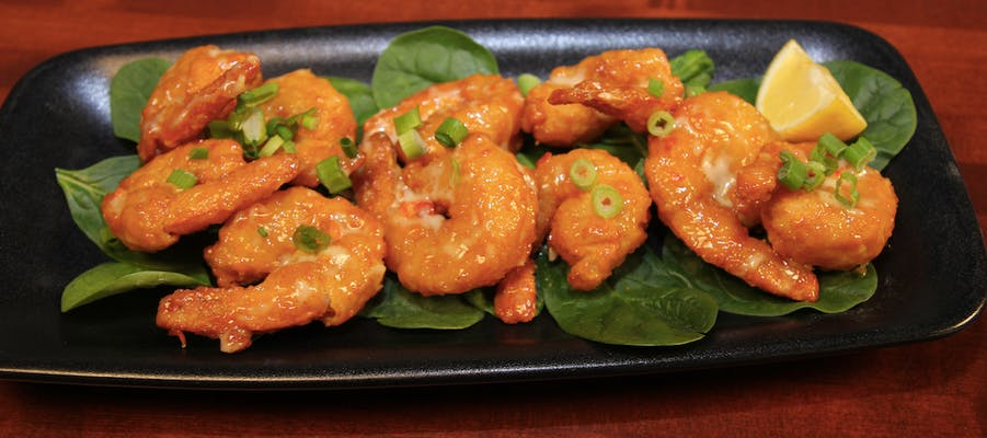 Sweet & Spicy Fried Shrimp