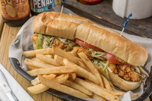 Fried Oyster Po-Boy