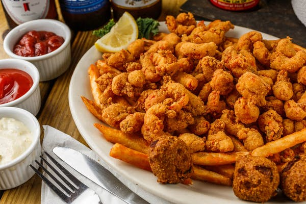 Fried Crawfish Tails Dinner