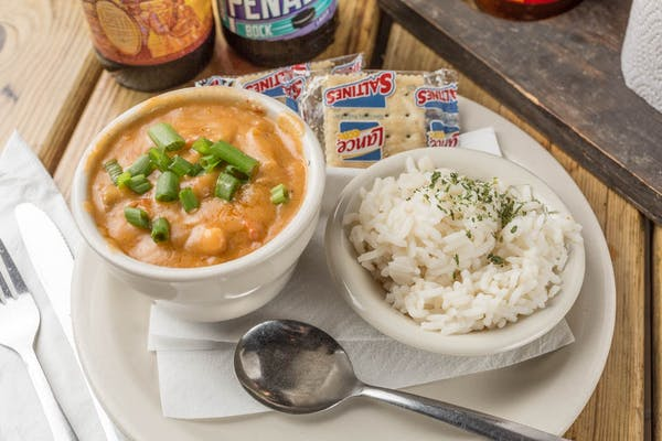 Lunch Crawfish Étouffée