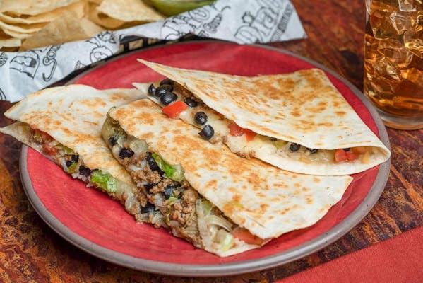 Beef Quesadilla & Chips