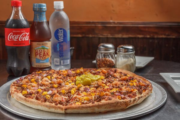 "(14"") Specialty Pizza Coca-Cola Combo"