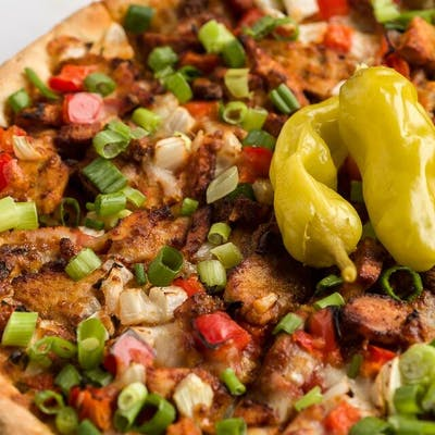 Cajun Rage Pizza