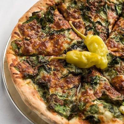 Spinach & Artichoke Pizza