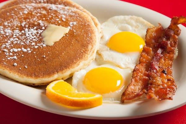 Breakfast Three Little Deuces