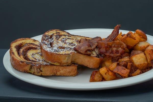 Breakfast Slices, Strips & Spuds