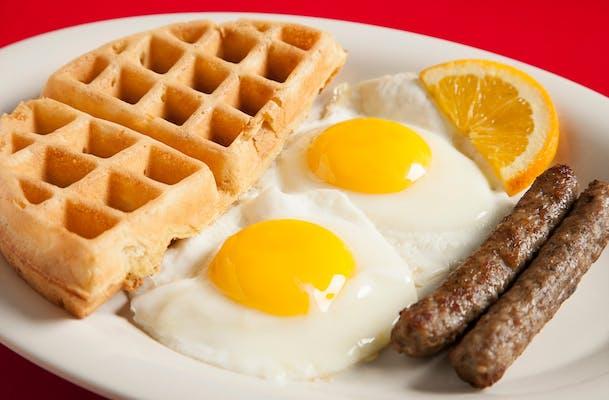 Breakfast Little Waffle in The Hen House