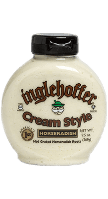 (9.5 oz.) Inglehoffer Cream Style Horseradish