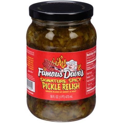 (16 oz.) Famous Dave's Signature Spicy Pickle Relish