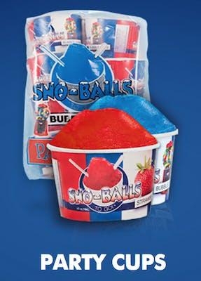 Sno-Balls Party Cups