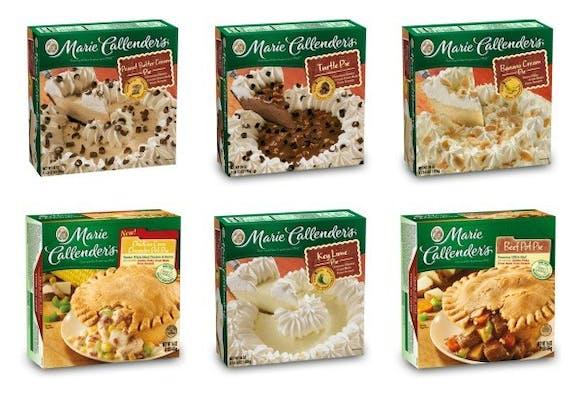 Marie Callender's Frozen Pie