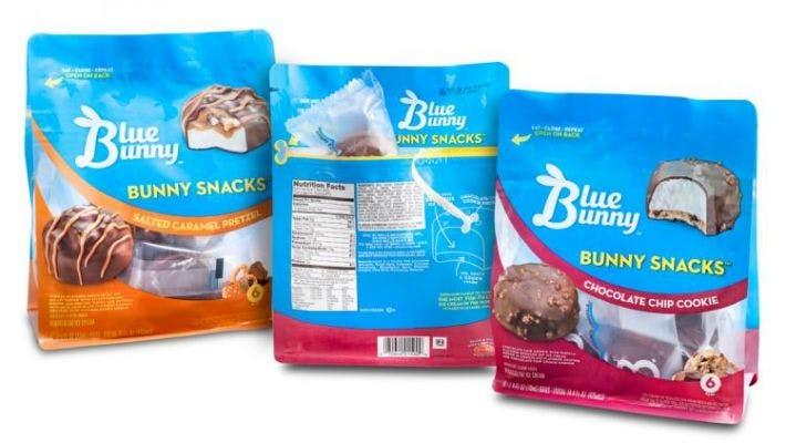 Blue Bunny Snack Ice Cream Bars