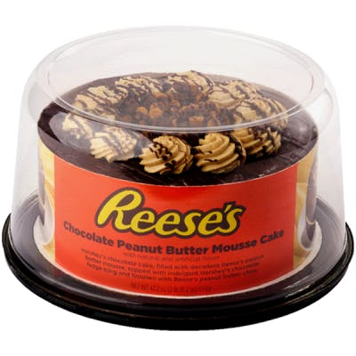 (22.7 oz.) Reese's Chocolate Peanut Butter Mousse Cake