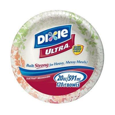 (26 ct. - 20 oz.) Dixie Ultra Paper Bowls