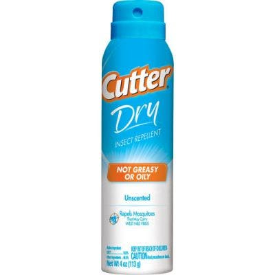 Cutter 4 oz Dry Spray Insect Repellent