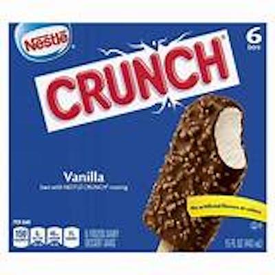 Nestle Crunch Frozen Bars 6ct