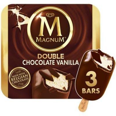 Magnum Double Chocolate Vanilla 3ct