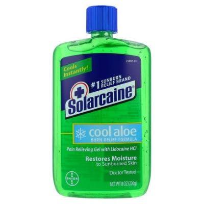Solarcaine 8oz Burn Relief