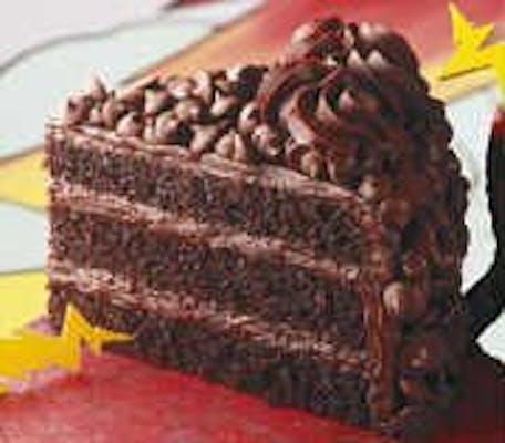 Double Layer Chocolate Thunder Cake
