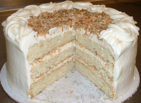 Gourmet Italian Cream Cake