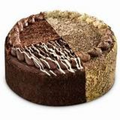 """8"""" Double Layer Chocolate Variety Cake"""