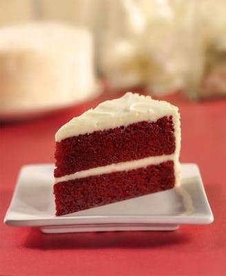"""8"""" Double Layer Red Velvet Cake"""