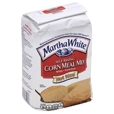 Martha White Self-Rising White  Corn Meal Mix