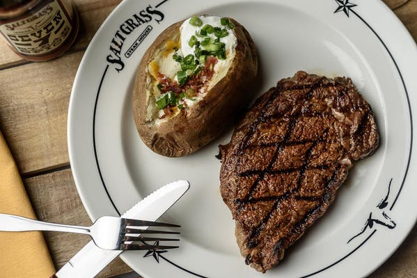 Pat's Ribeye Steak