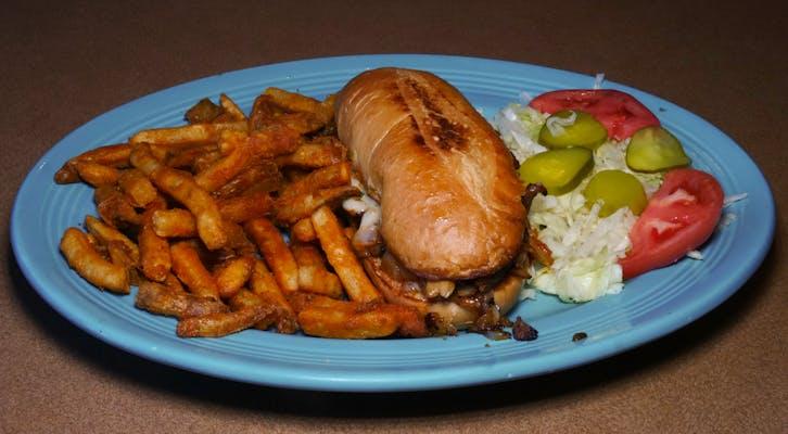 66. Philly Cheesesteak Sandwich