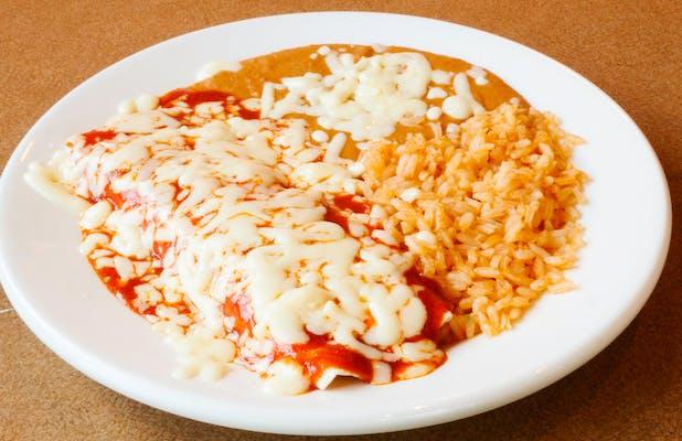 O. Kid's Beef Enchilada Meal