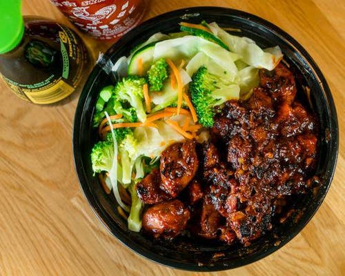 Spicy Chicken Bowl