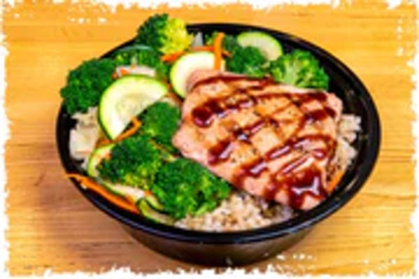 Teriyaki Salmon Bowl (Regular)