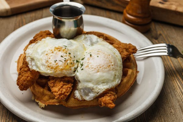 Chicken-N- Waffles