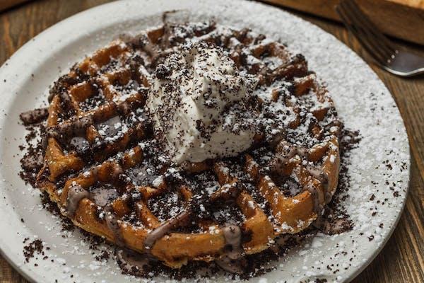 Oreo Explosion  Waffle