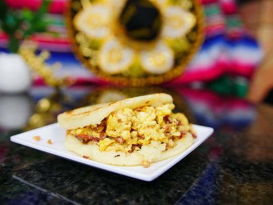 Breakfast Arepa