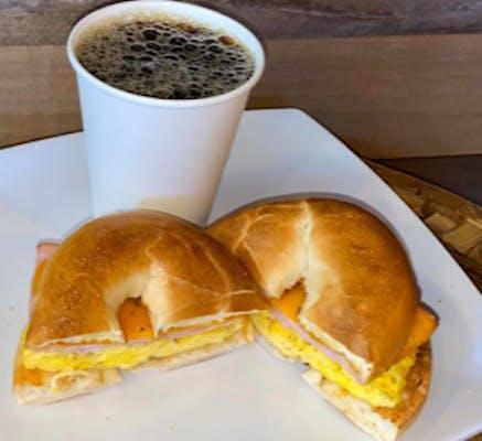 Breakfast Ham & Egg