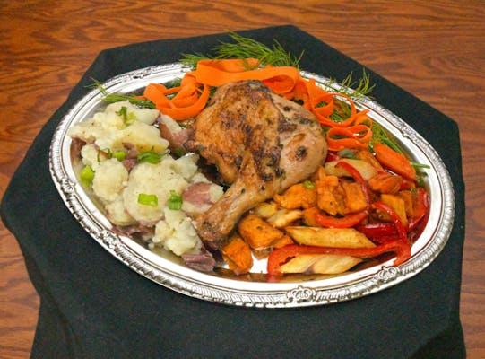 Pan Roasted Thyme & Oregano Chicken