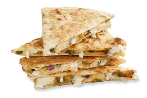 Island Chicken Quesadilla