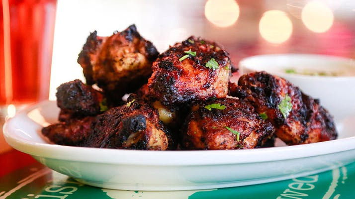 Char-Grilled Hot Wings
