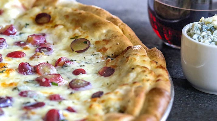 Grape & Gorgonzola Pie