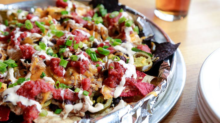 Pork & Pepper Nachos