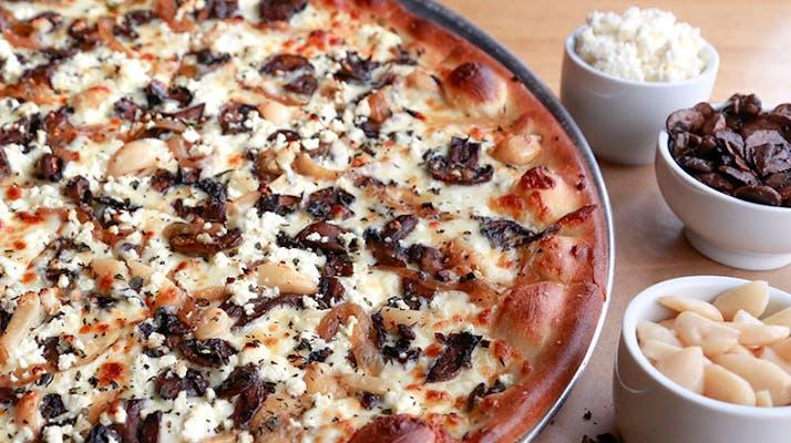 "(16"") Mushroom Garlic Pie"