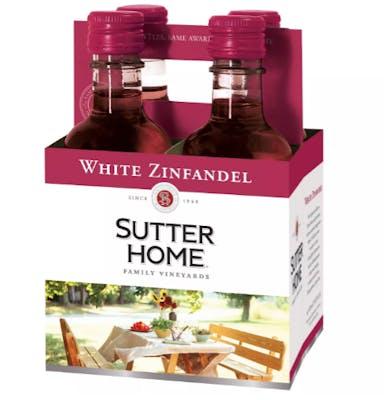 (4 pk) Sutter Home- White Zinfandel