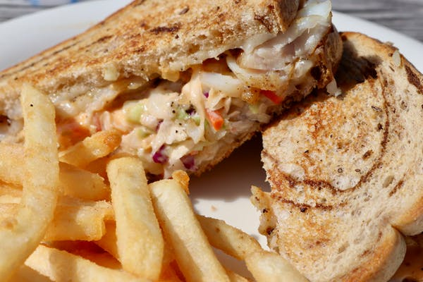 Mahi Mahi Reuben Sandwich