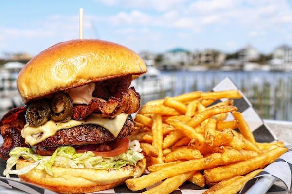Build Your Own Bama Burger