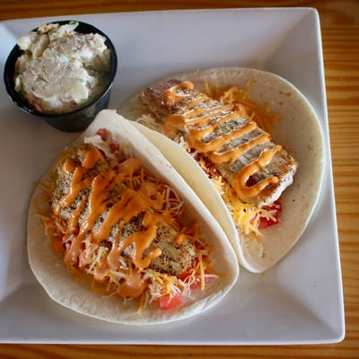 Grilled Mahi Taco